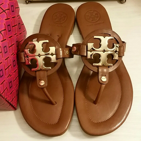 Tory Burch Miller 2 Sandals in Vintage Vachetta